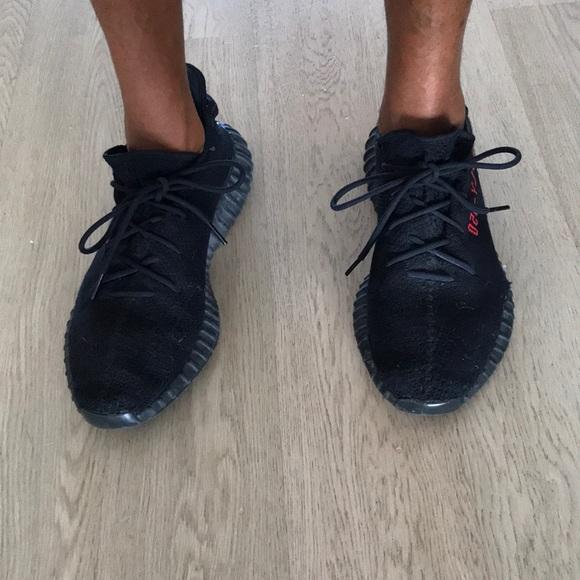 711c636ce4864 Adidas Yeezy Boost 350 V2 Black Red size 14 mens. M 5c040506f63eea29cfec690c